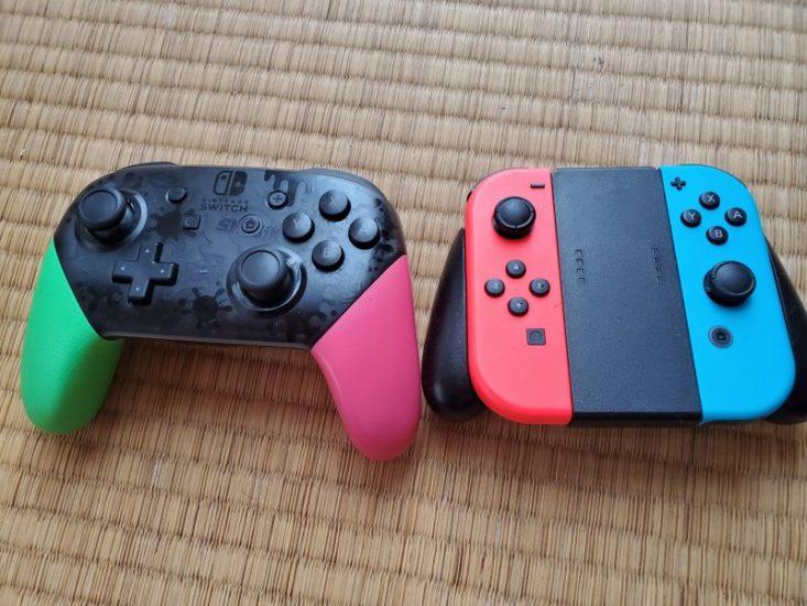 Switch プロコン 比較