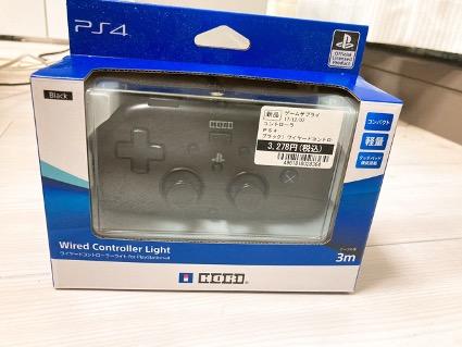 ワイヤードコントローラー PS4